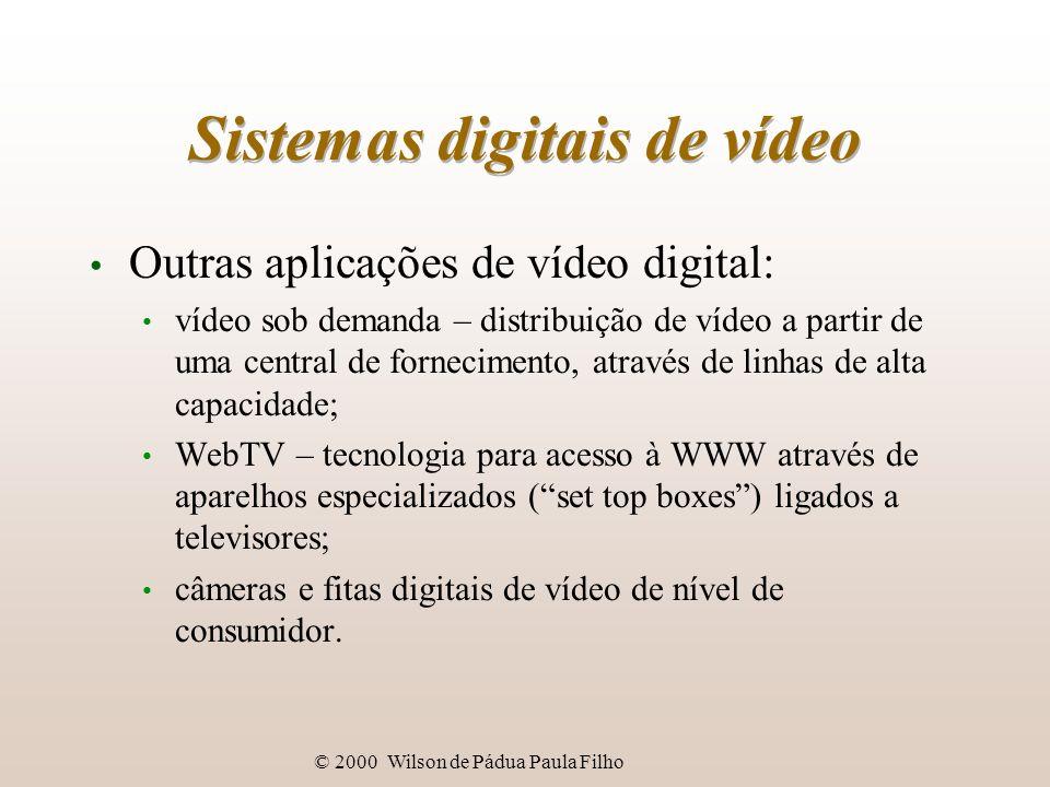 Sistemas digitais de vídeo