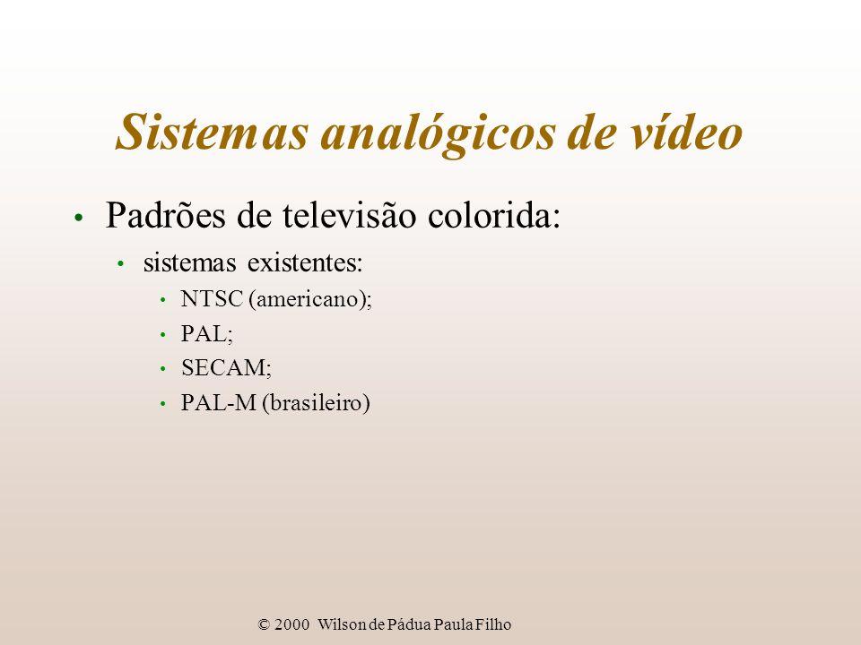 Sistemas analógicos de vídeo