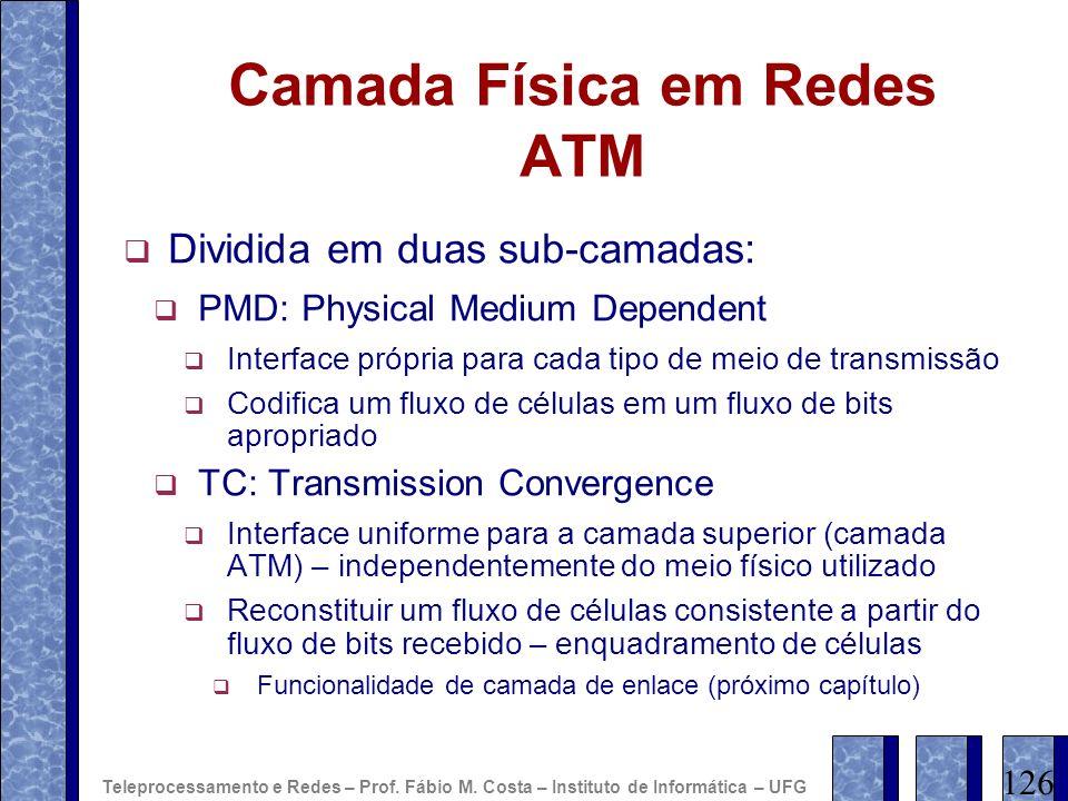 Camada Física em Redes ATM