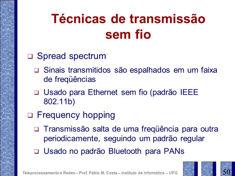 Técnicas de transmissão sem fio