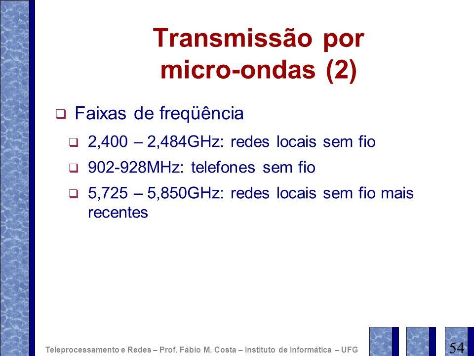 Transmissão por micro-ondas (2)