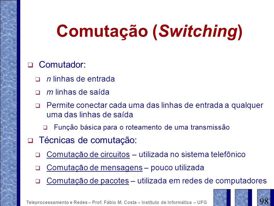 Comutação (Switching)