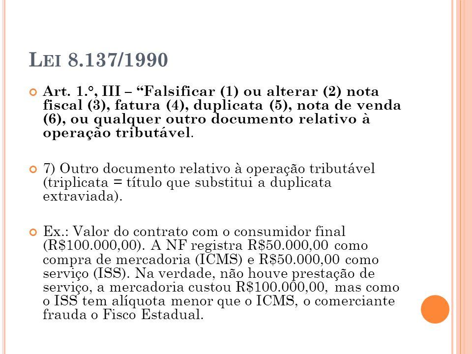 Lei 8.137/1990