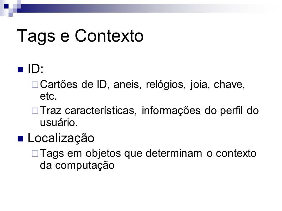 Tags e Contexto ID: Localização