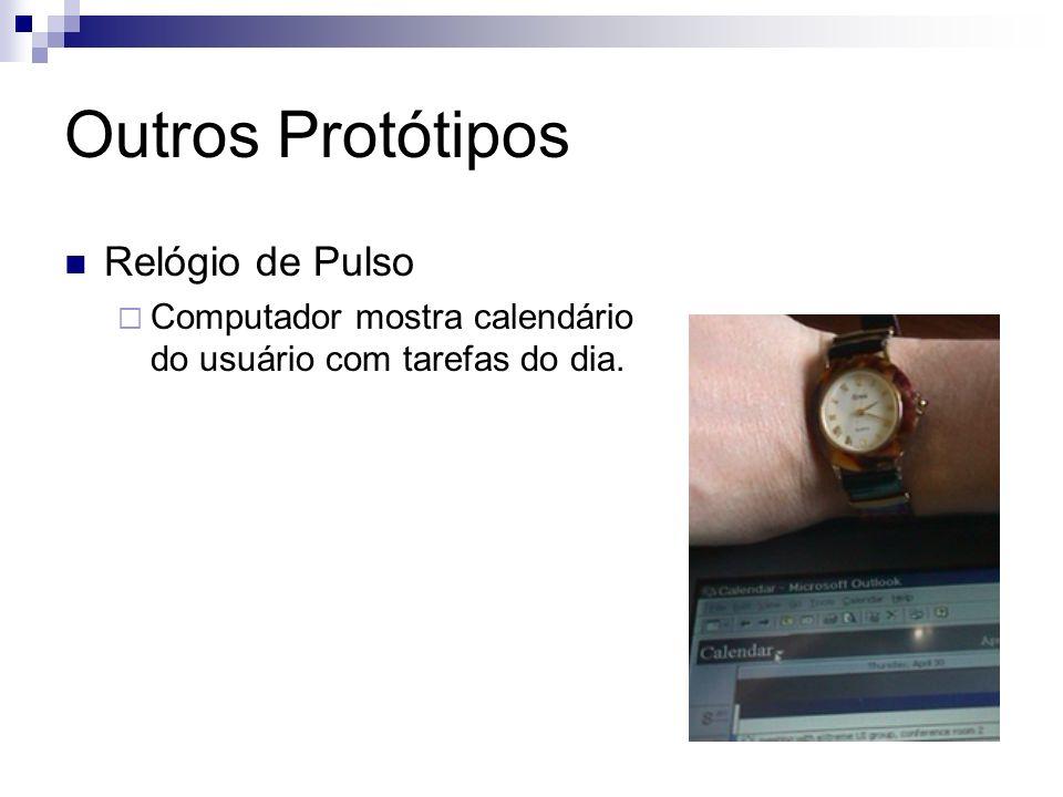 Outros Protótipos Relógio de Pulso