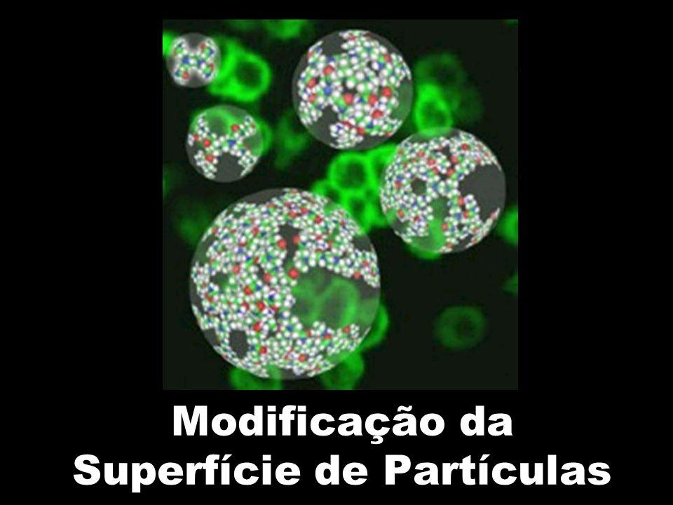 Modificação da Superfície de Partículas