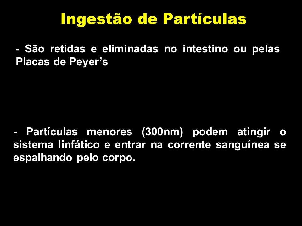 Ingestão de Partículas