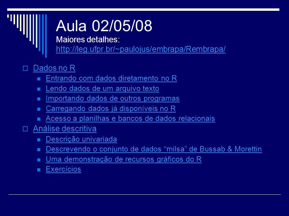 Aula 02/05/08 Maiores detalhes: http://leg. ufpr