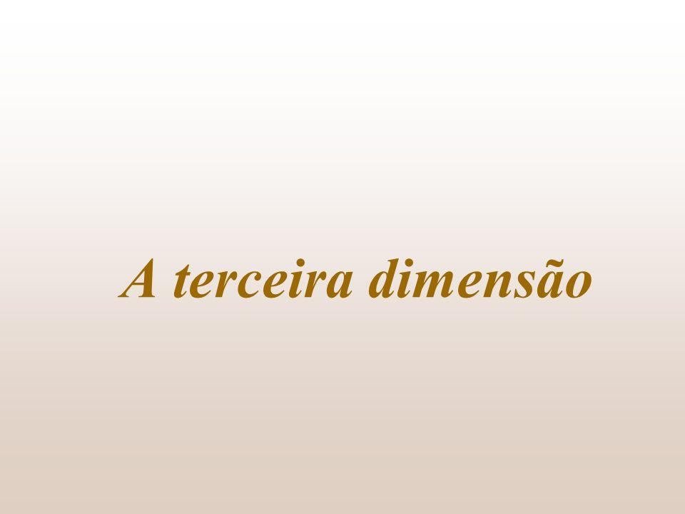 A terceira dimensão