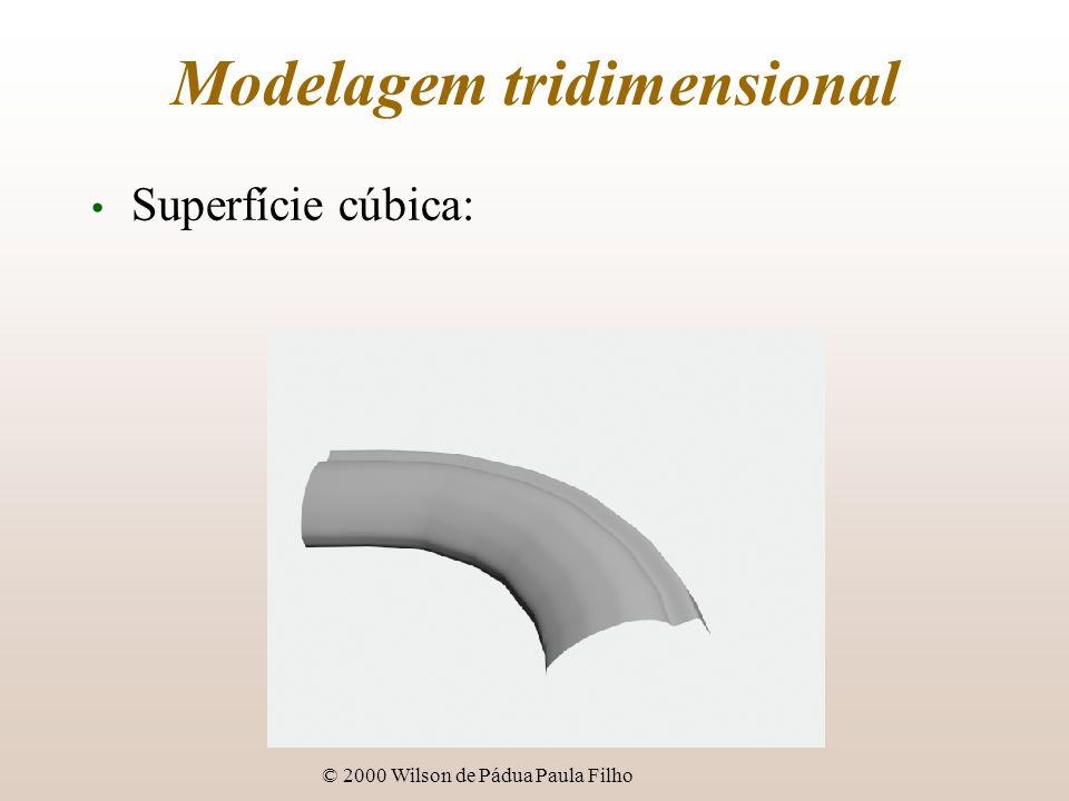 Modelagem tridimensional