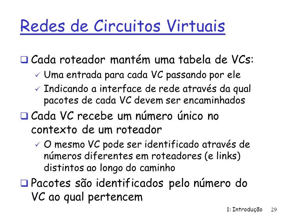 Redes de Circuitos Virtuais