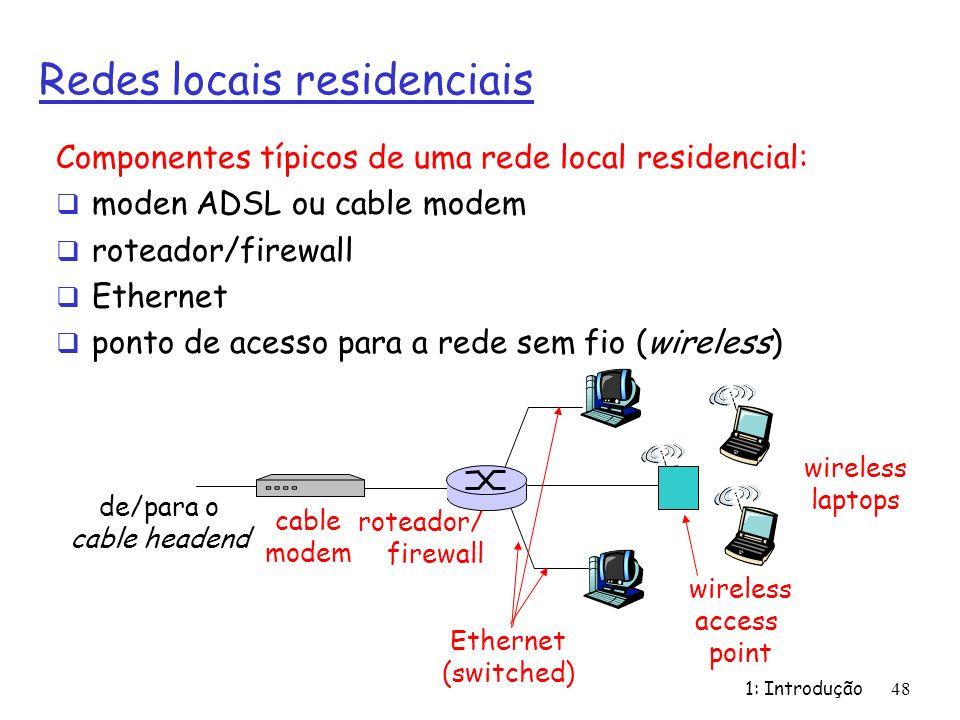 Redes locais residenciais