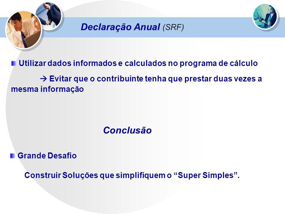 Declaração Anual (SRF)