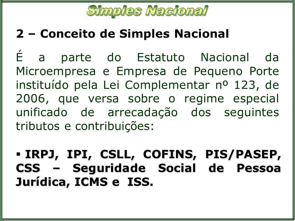 2 – Conceito de Simples Nacional
