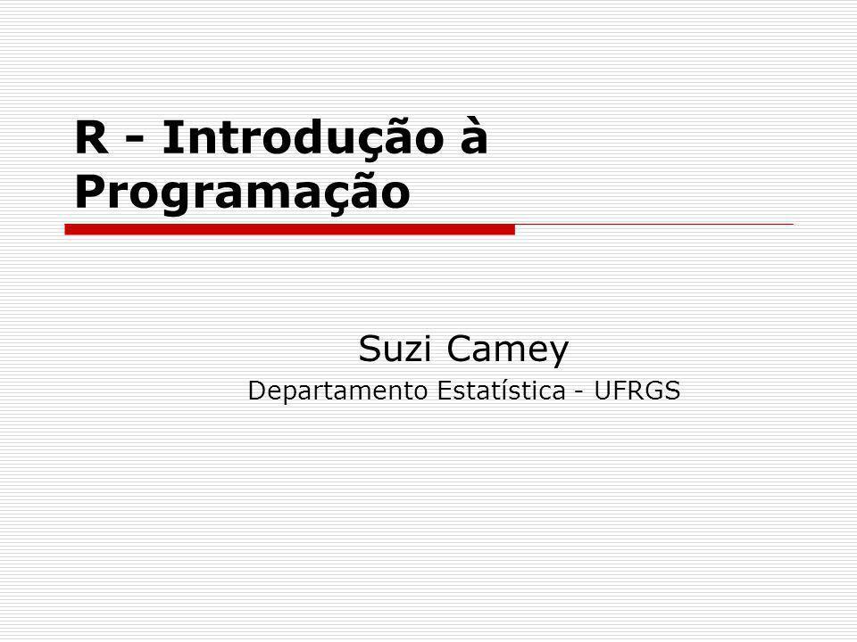 R - Introdução à Programação