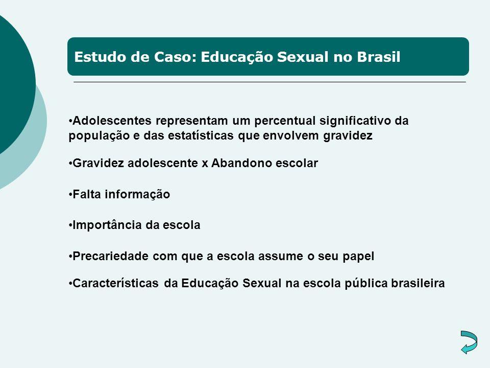 Estudo de Caso: Educação Sexual no Brasil