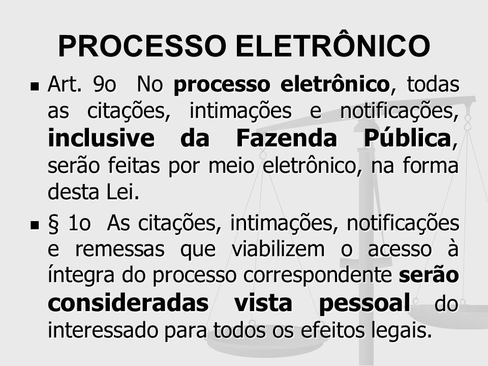 PROCESSO ELETRÔNICO