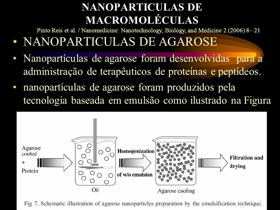 NANOPARTICULAS DE MACROMOLÉCULAS