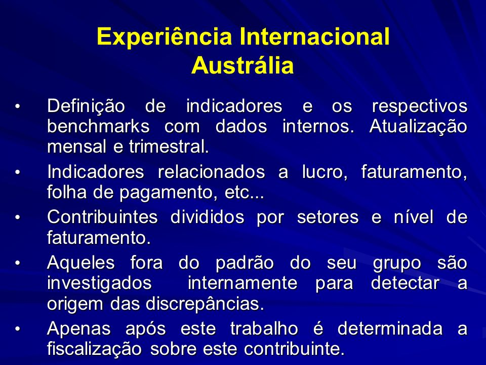 Experiência Internacional Austrália