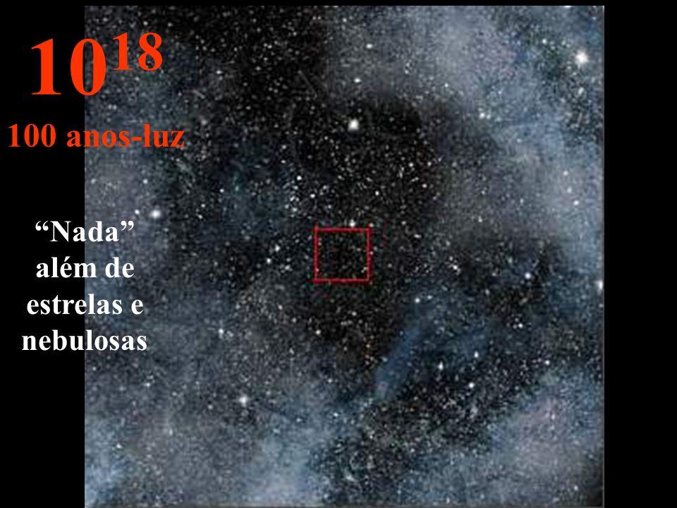 Nada além de estrelas e nebulosas