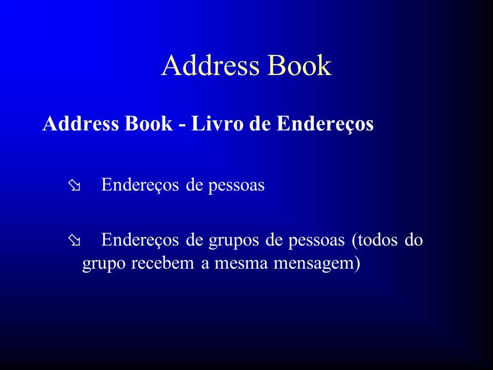 Address Book Address Book - Livro de Endereços Endereços de pessoas