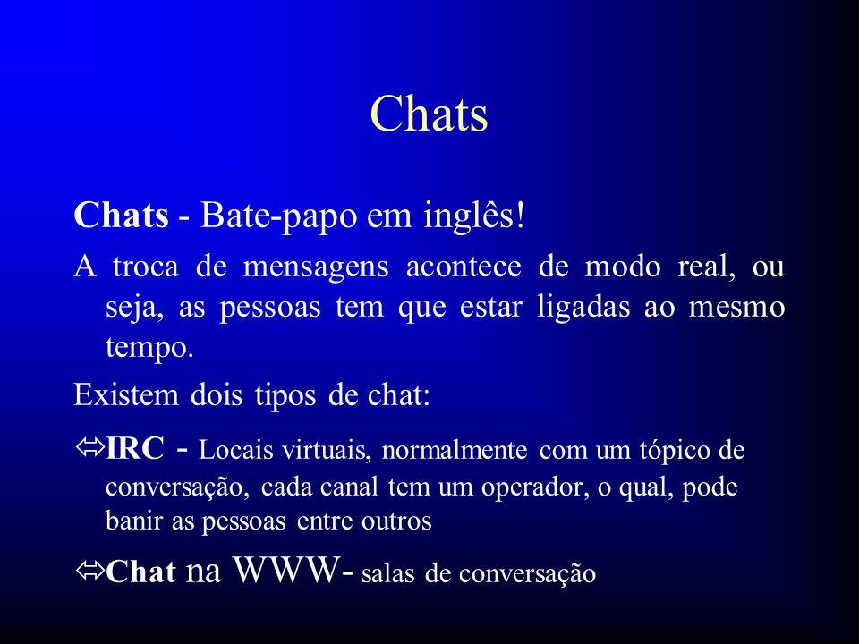 Chats Chats - Bate-papo em inglês!