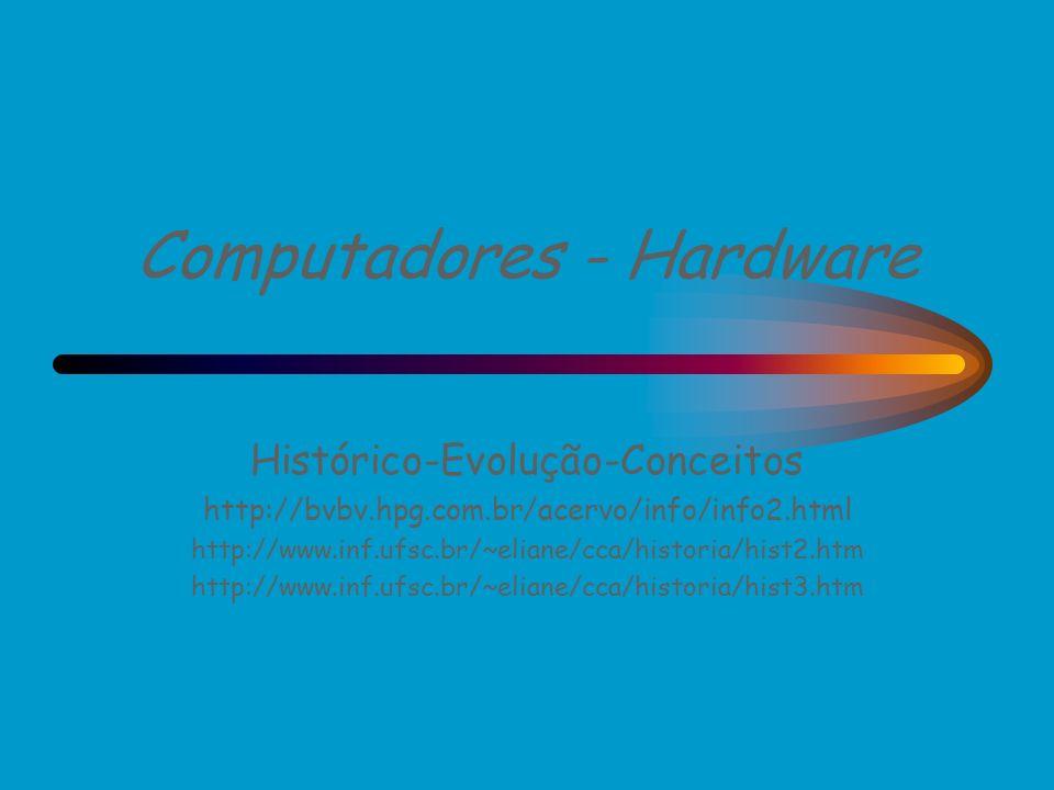 Computadores - Hardware