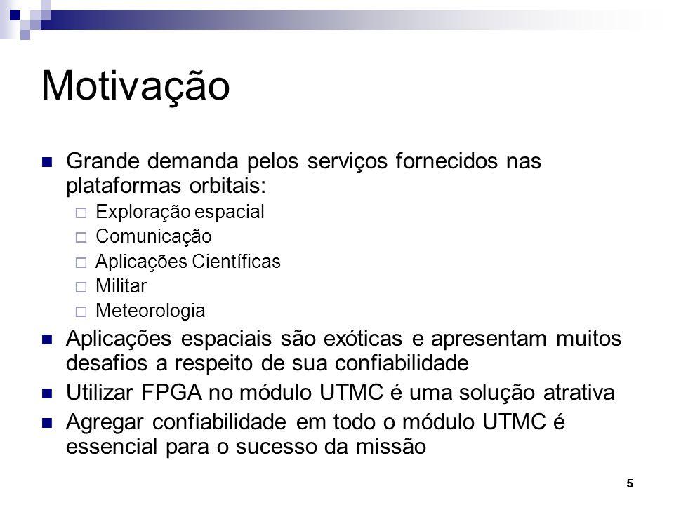 MotivaçãoGrande demanda pelos serviços fornecidos nas plataformas orbitais: Exploração espacial. Comunicação.