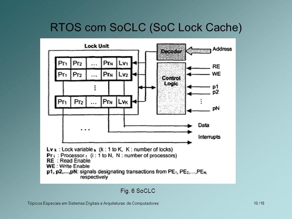 RTOS com SoCLC (SoC Lock Cache)