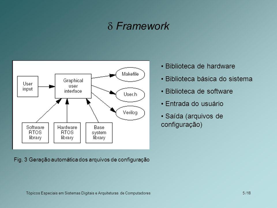 Fig. 3 Geração automática dos arquivos de configuração