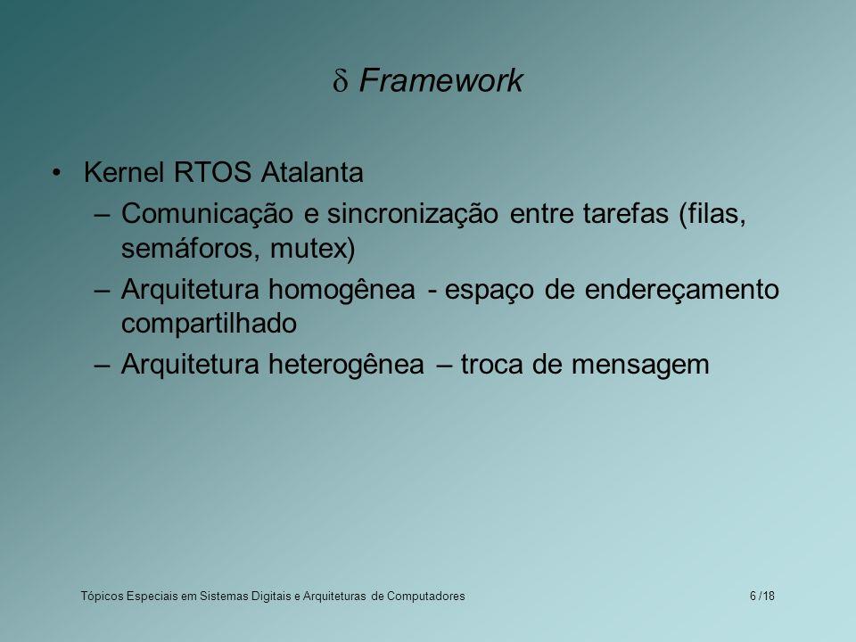  Framework Kernel RTOS Atalanta