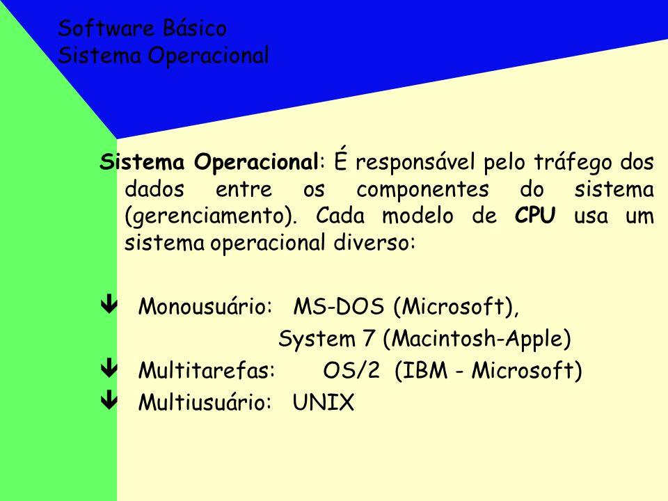 Software Básico Sistema Operacional