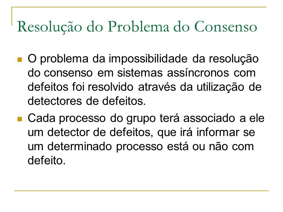 Resolução do Problema do Consenso