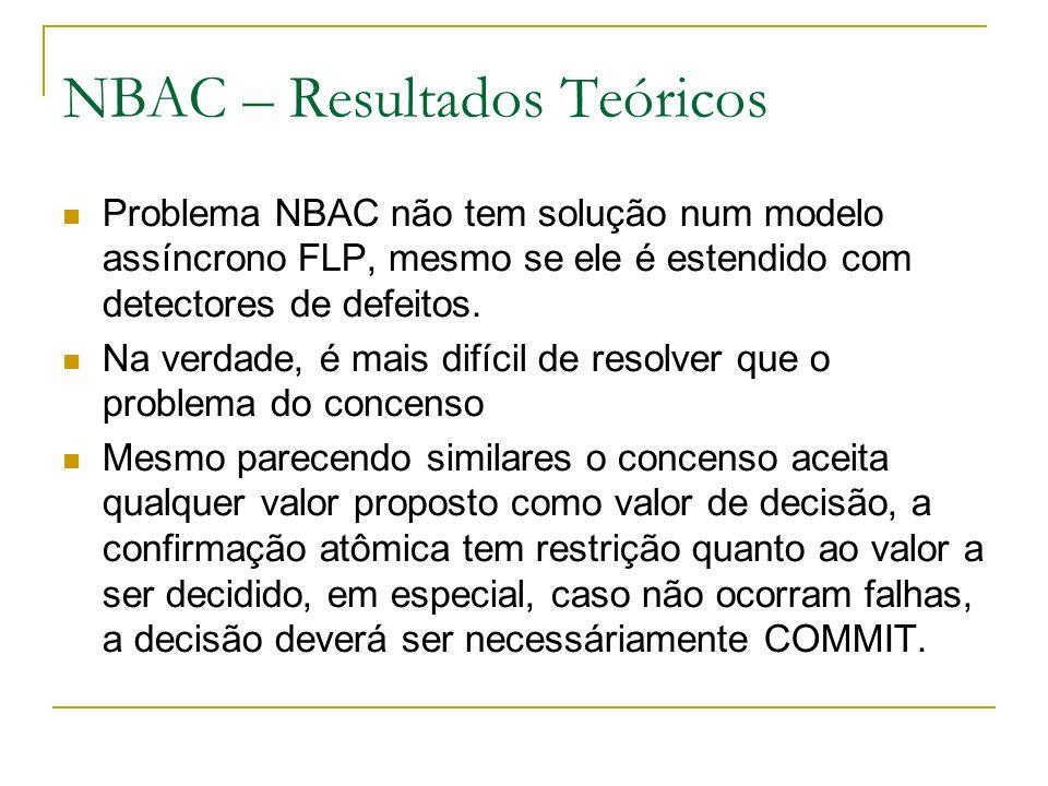 NBAC – Resultados Teóricos