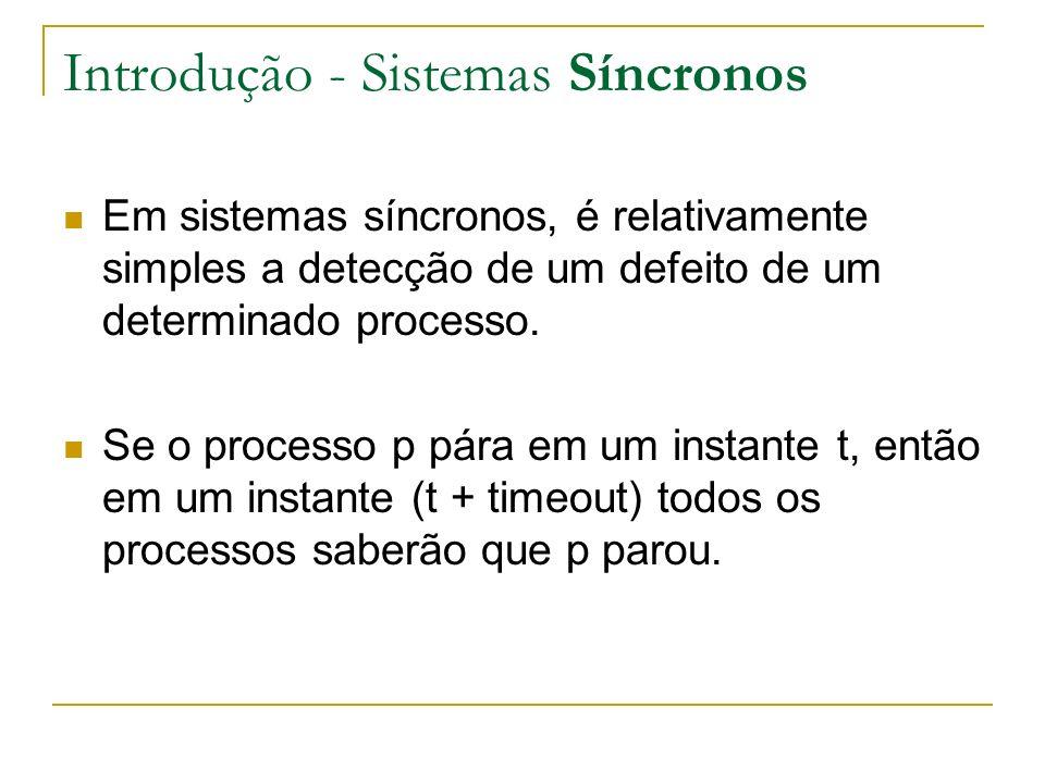 Introdução - Sistemas Síncronos