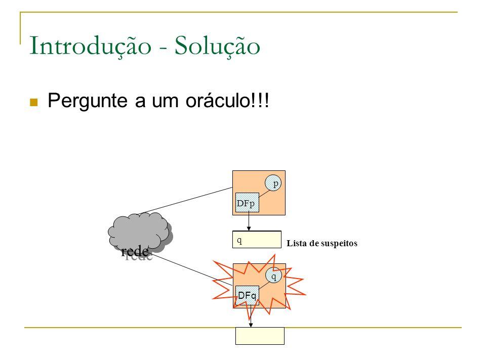 Introdução - Solução Pergunte a um oráculo!!! rede p DFp