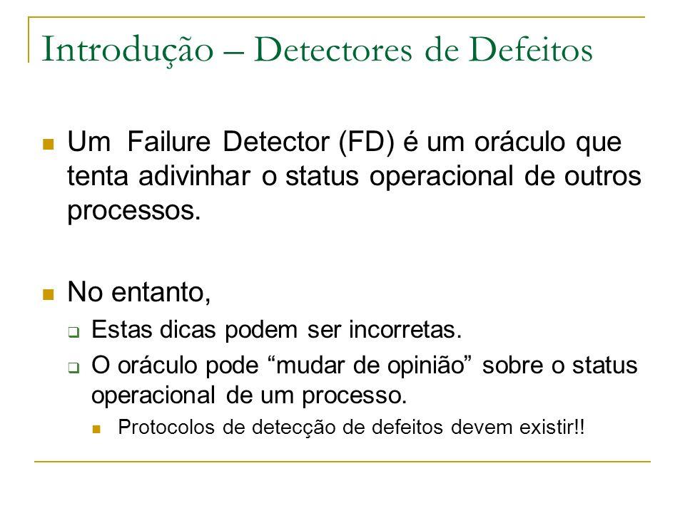 Introdução – Detectores de Defeitos