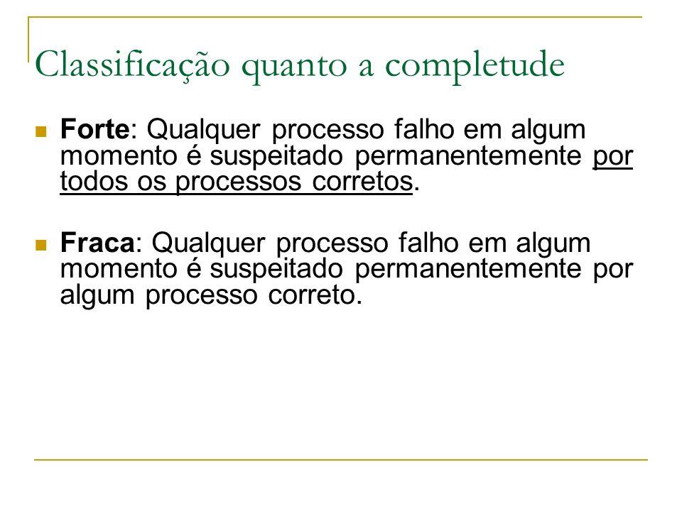 Classificação quanto a completude