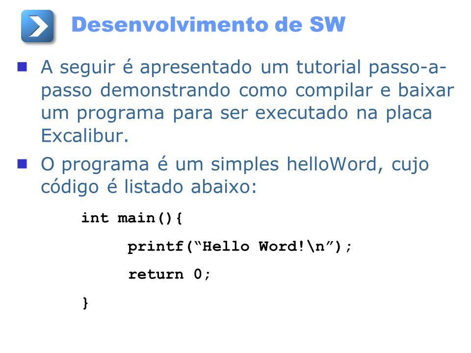 Desenvolvimento de SW