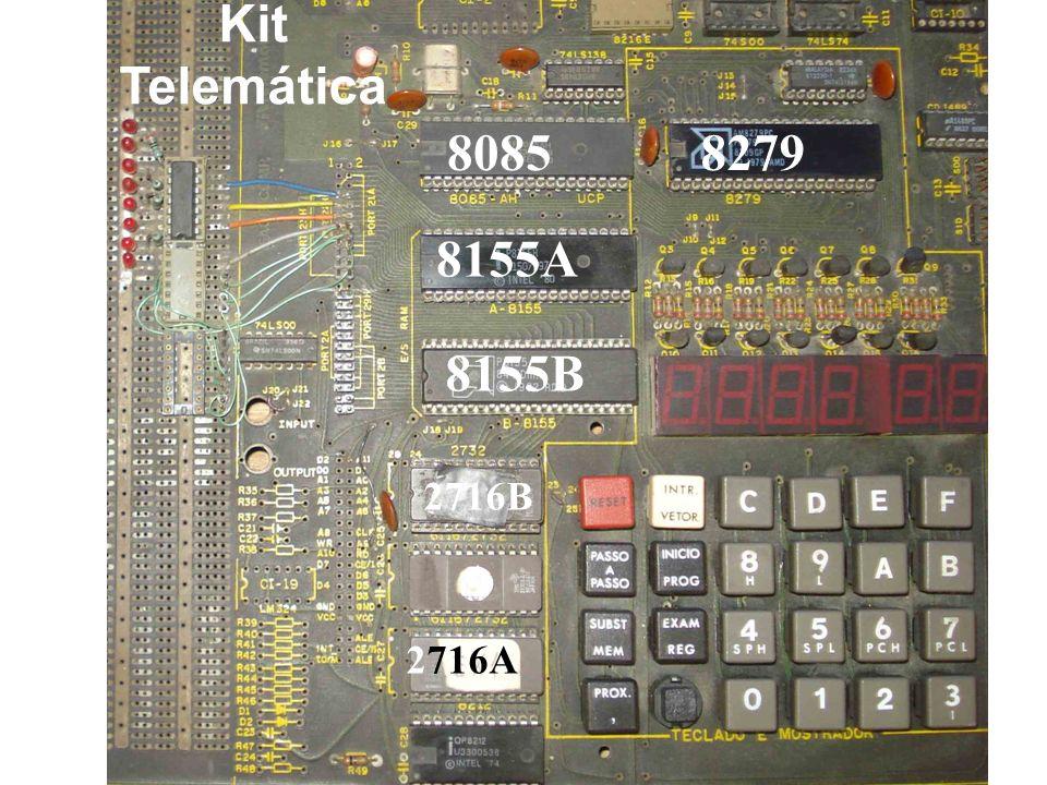 Kit Telemática 8085 8279 8155A 8155B 2716B 2716A