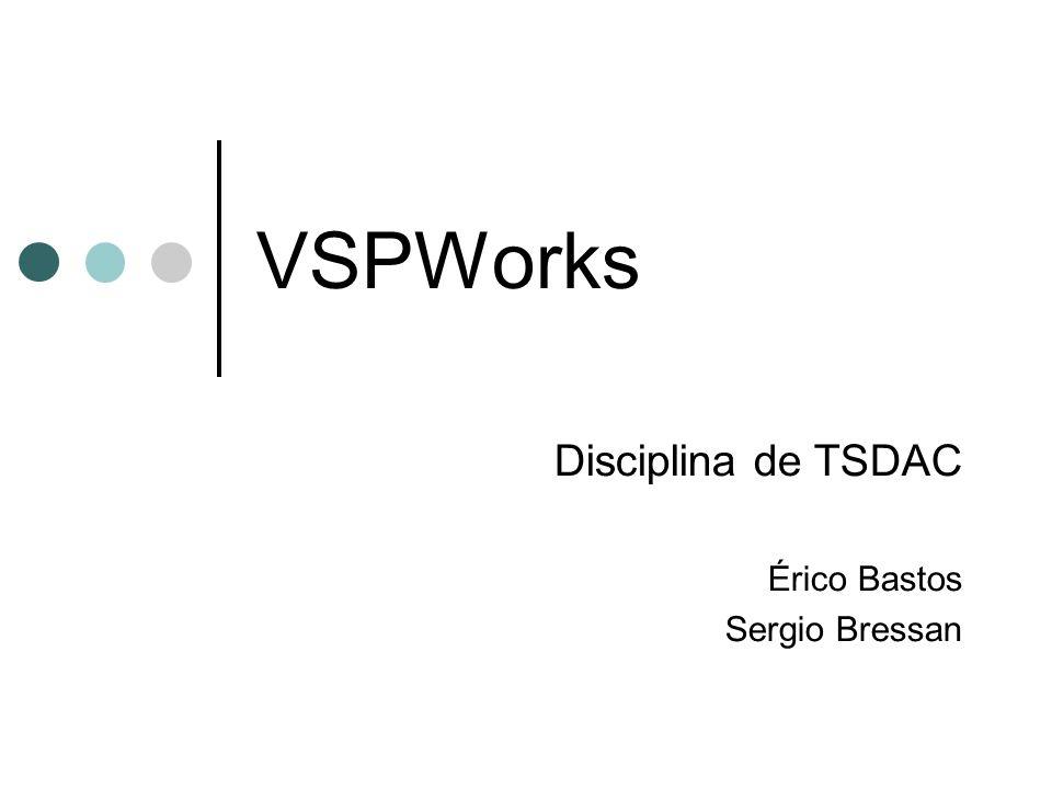 Disciplina de TSDAC Érico Bastos Sergio Bressan