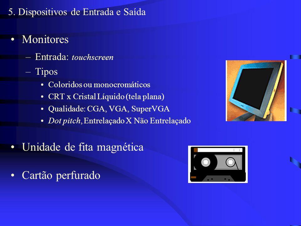 5. Dispositivos de Entrada e Saída