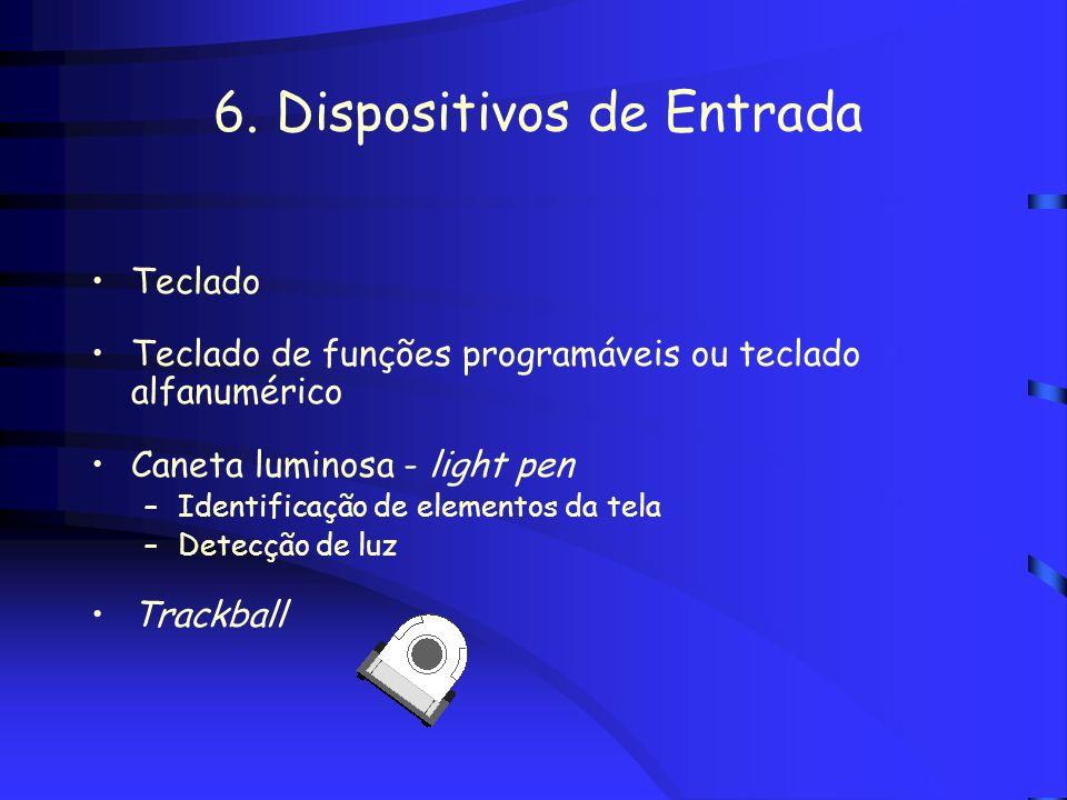 6. Dispositivos de Entrada
