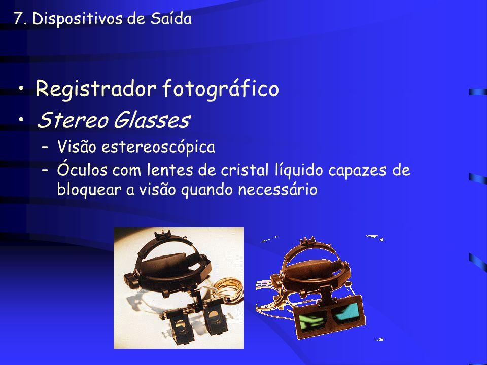 Registrador fotográfico Stereo Glasses