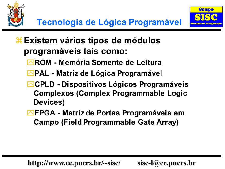 Tecnologia de Lógica Programável