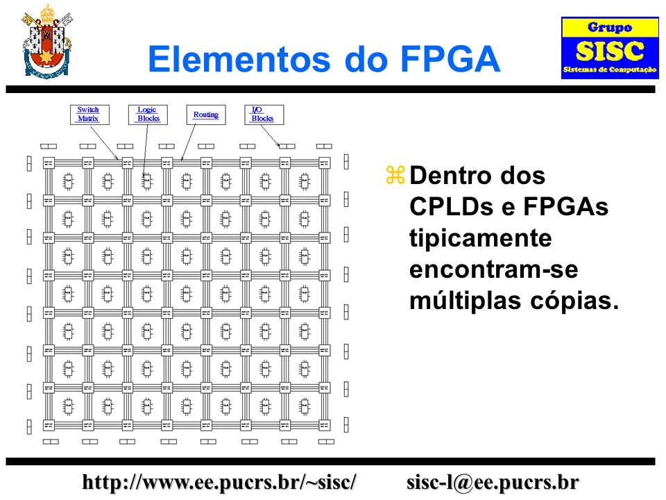http://www.ee.pucrs.br/~sisc/ sisc-l@ee.pucrs.br