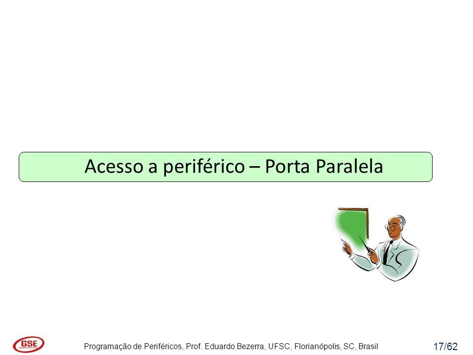 Acesso a periférico – Porta Paralela