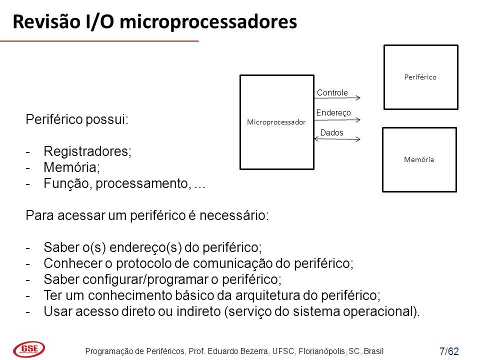 Revisão I/O microprocessadores