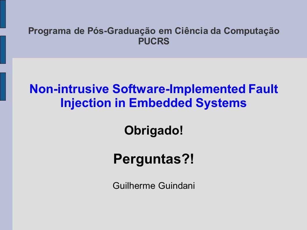Programa de Pós-Graduação em Ciência da Computação PUCRS