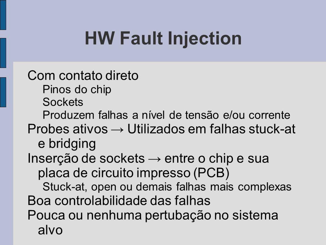 HW Fault Injection Com contato direto